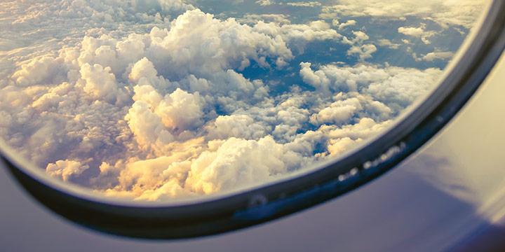 비행기에 있을 때 두려움을 느끼는가? 이를 해소하는 방법이 있다.