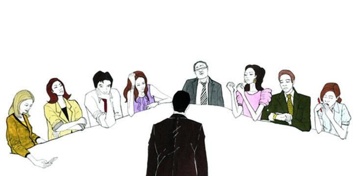 곧 회의에 들어가는 당신이 알아둬야 할 회의의 잔기술.