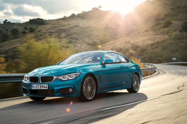 2018 BMW 420d엔진 1995cc 4기통 터보 디젤 / 최고 출력 190마력 / 최대 토크 40.8kg·m / 복합 연비 14.4km/L / 기본 가격 6050만~6160만원