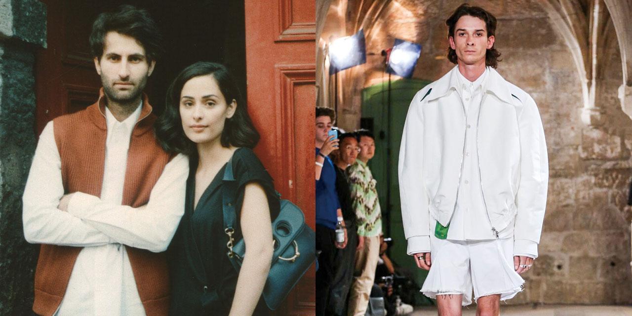 레잔 루르(Lezan Lurr)와 딜란 루르(Dilan Lurr), 벨기에 출신의 두 남매가 만드는 심플하지만 가치 있는 옷.