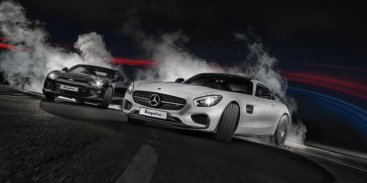자동차가 없던 시대, 세상의 모든 남자가 가지고 싶었던 것은 '가장 빠른 말'이었다. 수 세대가 지난 지금, 우리는 가장 빠른 차에 열광한다. 그렇다면 누가 가장 빠른가? 결과를 확인하려면 겨뤄보는 수밖에. 누구보다 빠르다고 주장하는 두 대의 자동차가 뜨겁게 맞붙었다.