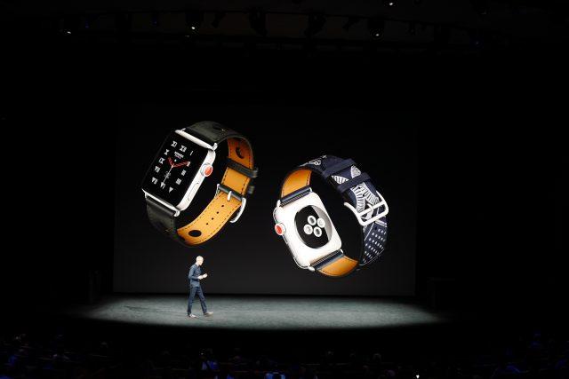 새로운 애플워치와 에르메스 콜라보레이션