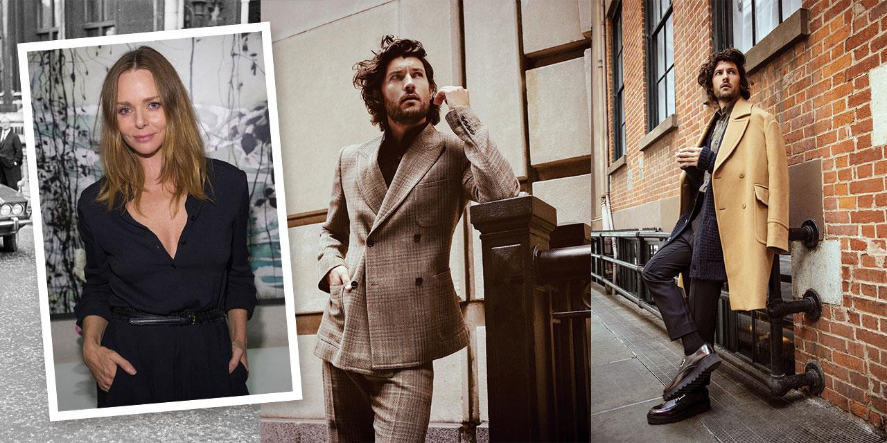 스텔라 매카트니의 옷은 쿨한 소녀들의 전폭적인 사랑을 받았다. 그녀가 이제 남성복도 디자인하기 시작했다.