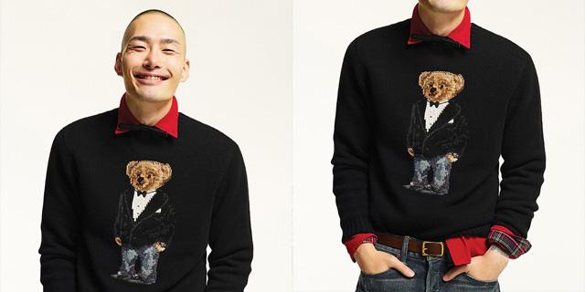 유치하고 명랑하게 입는  스웨터.