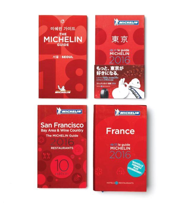 서울, 도쿄, 샌프란시스코, 프랑스판 미쉐린 가이드. 분명한 공통점과 미묘한 국가별 차이점이 함께 보인다.