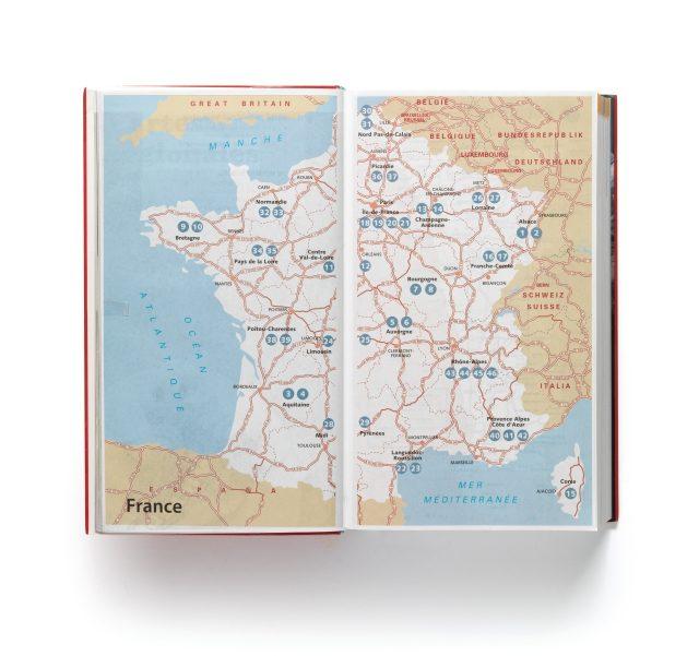 미쉐린 가이드는 기본적으로 자동차를 통한 도로 여행 지침서다. 철도나 항공로가 아닌 도로지도를 표시했다는 점에서 이 가이드북의 본질이 남아 있다.