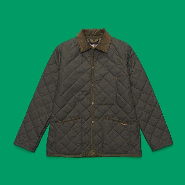 카키색 퀼팅 재킷 34만8000원 라벤햄 by 플랫폼 플레이스.
