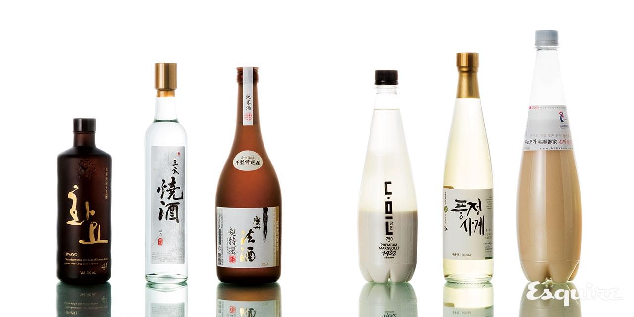 입안 가득 은은하게 퍼지는 쌀 향을 음미할 수 있는 술.
