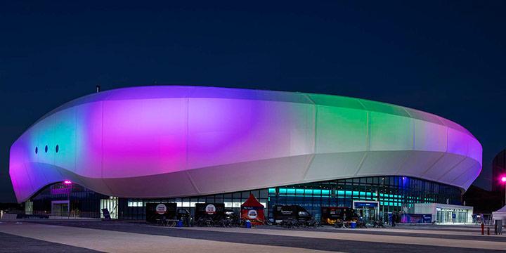 흥미진진한 올림픽 경기가 열리는 생생한 현장 스타디움. 생동감을 넘어 아름답기까지한 역대 올림픽 경기장.