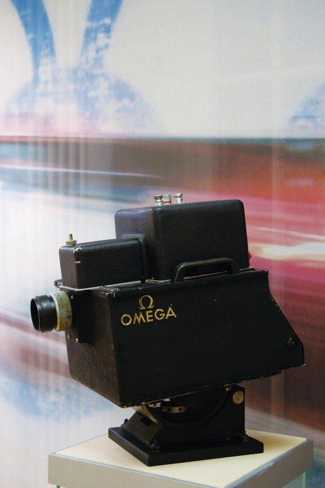 초기의 포토 카메라. 1등의 기록과 상대적 순위만 알 수 있었다. 하지만 사진 계측의 기본적인 원리는 그때나 지금이나 똑같다.
