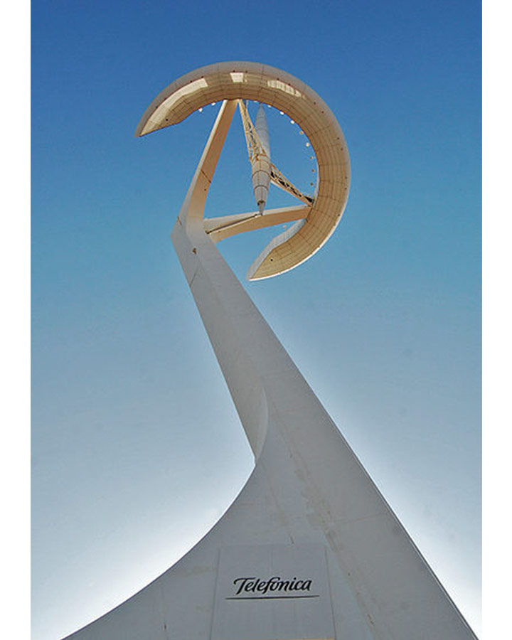 몬주익 타워, 산티아고 칼라트라바