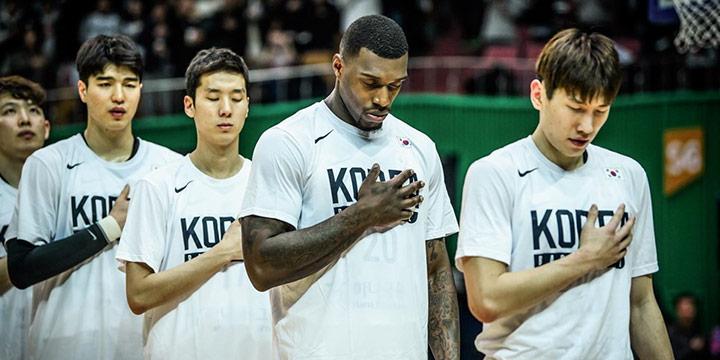 구 라틀리프 현 라건아가 등장하니 골밑이 든든해졌다. 한국대표팀의 농구가 이전과는 판이했다.