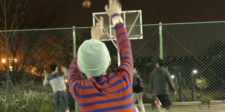농구, 잘 하고 싶었다.