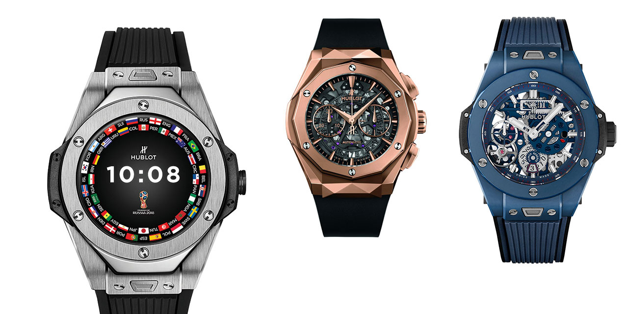 위블로, 브라이틀링, 제니스, 태그호이어. 바젤월드를 대표하는 시계 브랜드의 2018년 신제품.