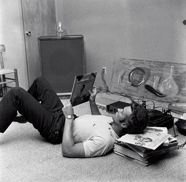 클린트 이스트우드, 1959년 10월, 자택