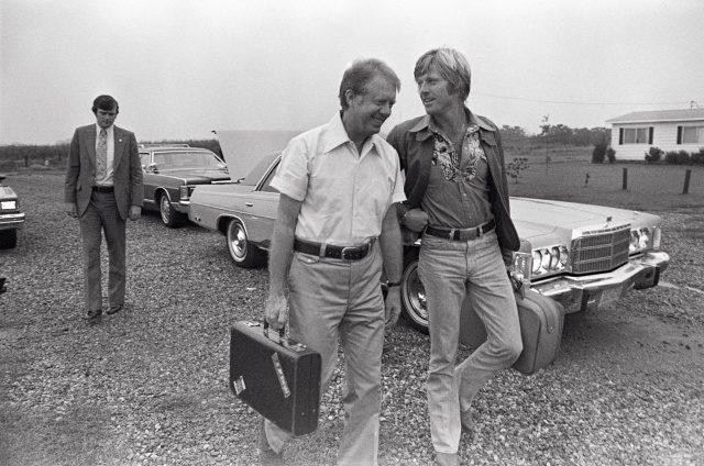 지미 카터 & 로버트 레드퍼드, 1970년대, 조지아