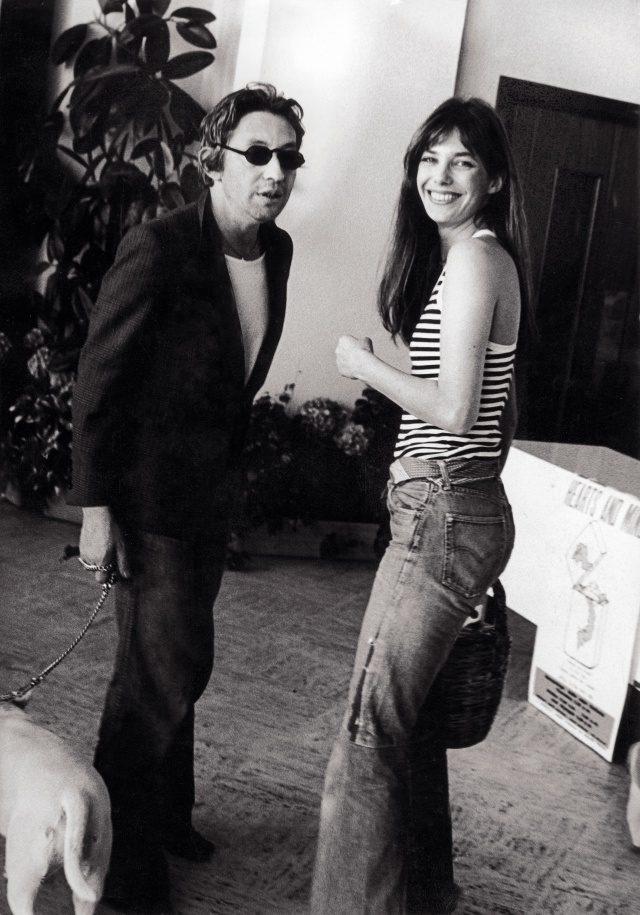 세르주 갱스부르 & 제인 버킨, 1974년, 영국