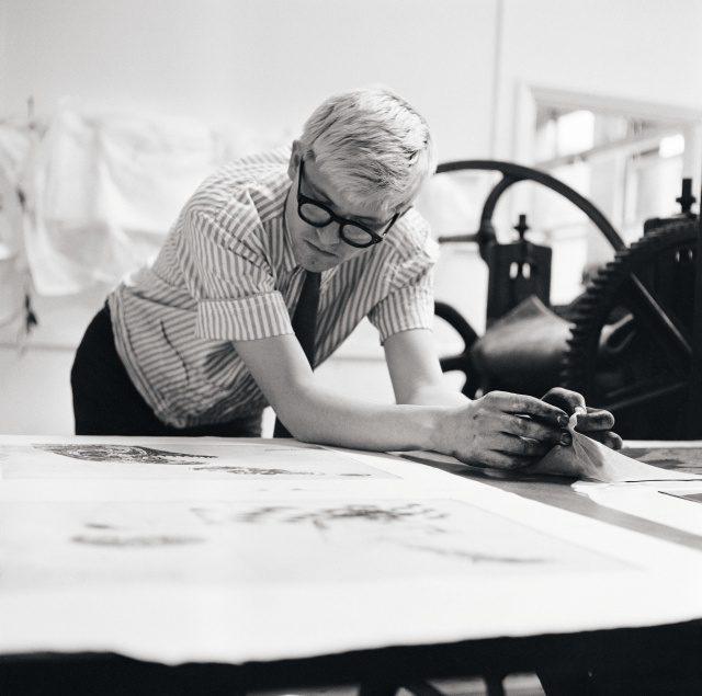 데이비드 호크니, 1965년, 런던