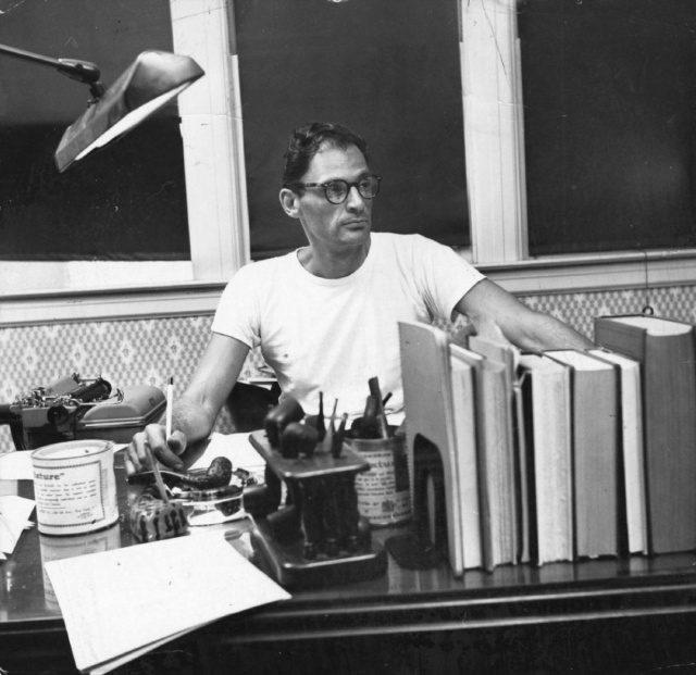 아서 밀러, 1955년, 서재
