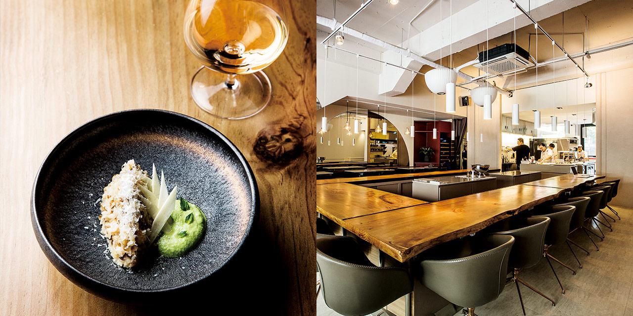 국내 식재료로 빚은 한국산 서양 술을 음미할 수 있는 서울의 레스토랑과 바.
