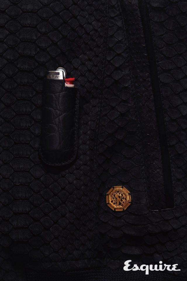 악어가죽 라이터 케이스 10만원 A.B.P 파리 by 이나폴리.