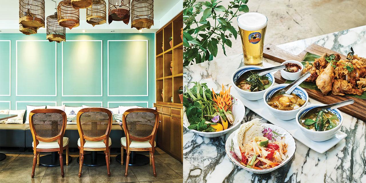 타이 미식의 진정한 수준을 알려주는 서울의 타이 레스토랑.