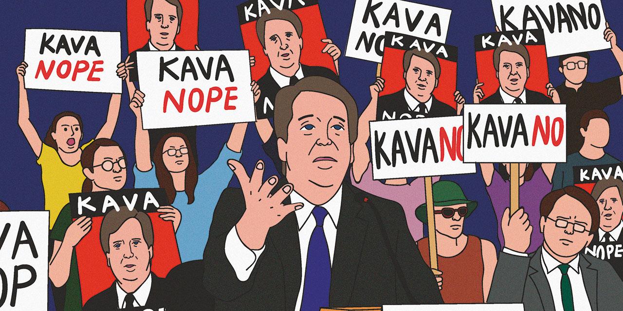 도널드 트럼프가 지명한 브렛 캐버노가 성폭행 의혹에도 불구하고 미국 대법관이 되었다.