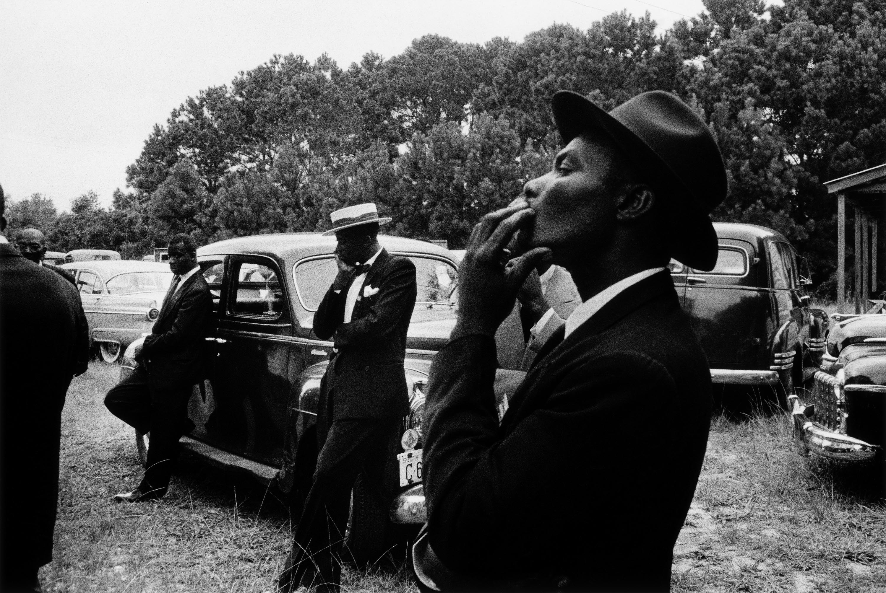 Robert Frank, Funeral - St. Helena, South Carolina , from the book The Americans © Robert Frank