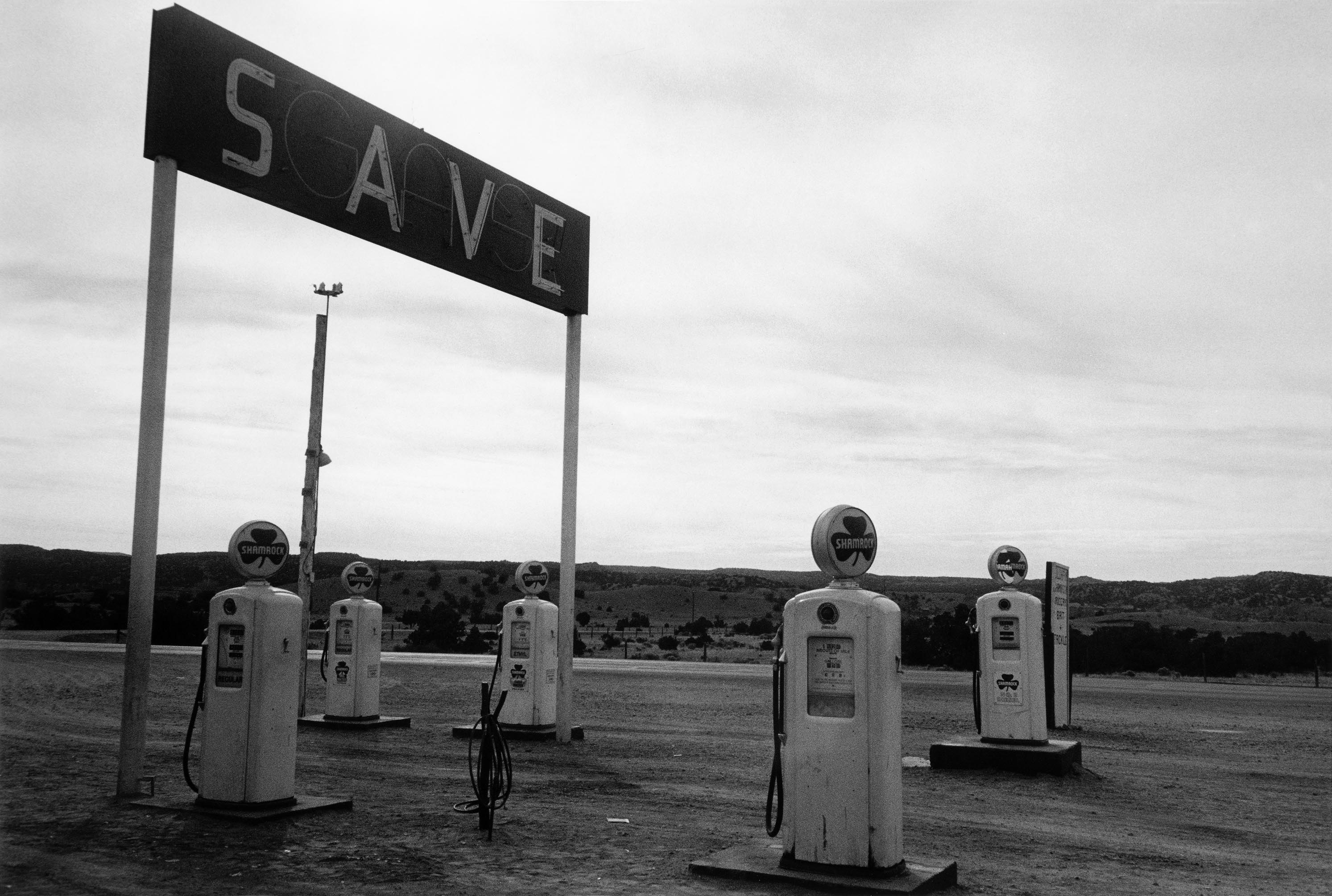 Robert Frank, Santa Fe - New Mexico , from the book The Americans © Robert Frank