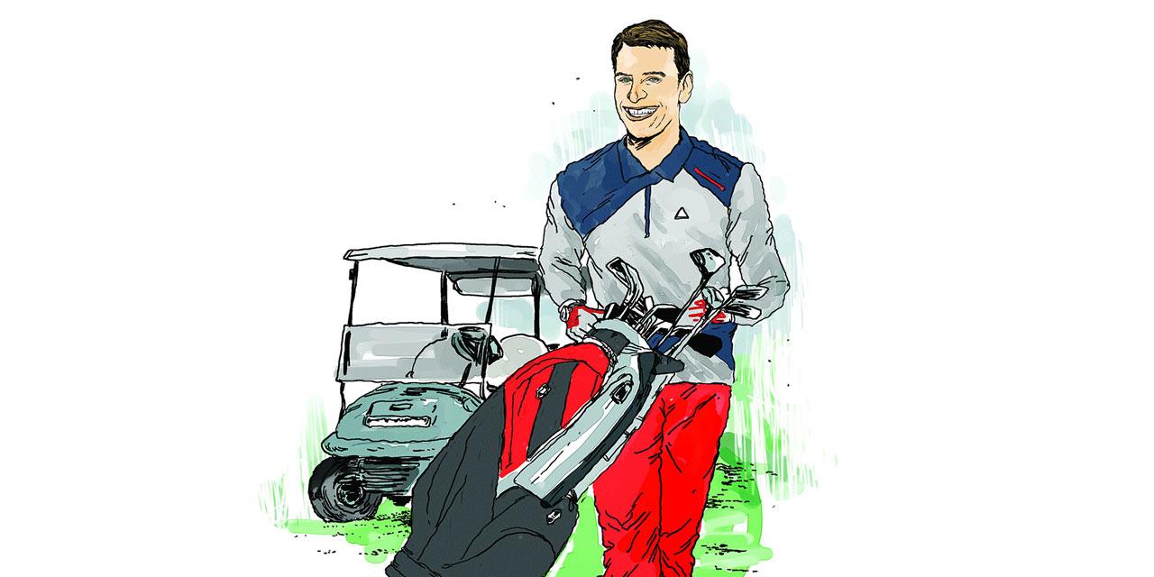 매너와 센스, 안목을 갖춘 완벽한 캐디만큼 골퍼의 매너도 중요하다.