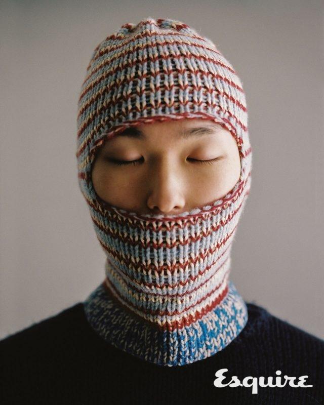 스웨터, 발라클라바 모두 가격 미정 캘빈클라인 205W39NYC.