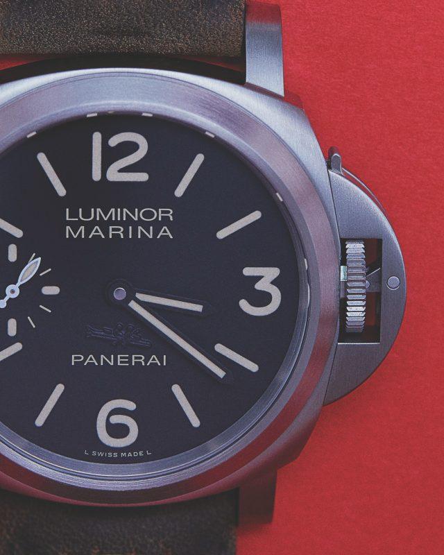 루미노르 마리나 8 데이즈 티타니오 44mm 서울 부티크 에디션 800만원대 파네라이.