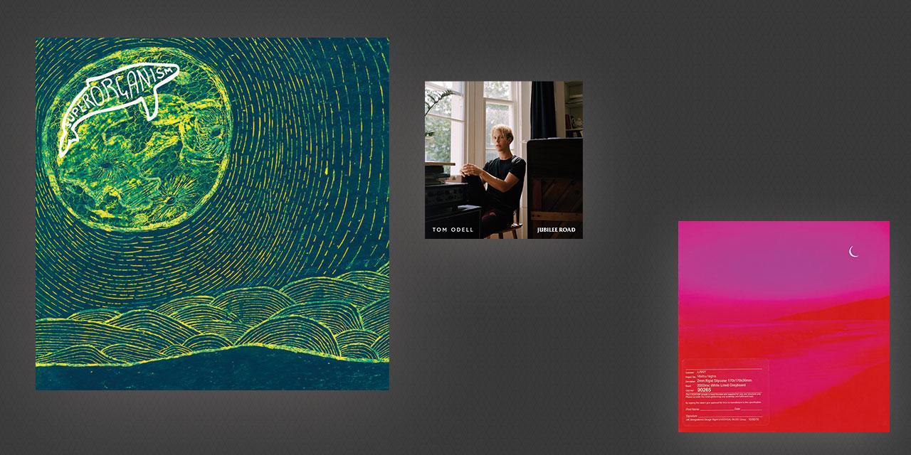 아름답고, 경쾌하고, 새로운 음반 세 장을 추천한다.