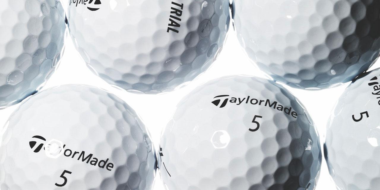 세심하게 골라낸 네 가지 골프공.