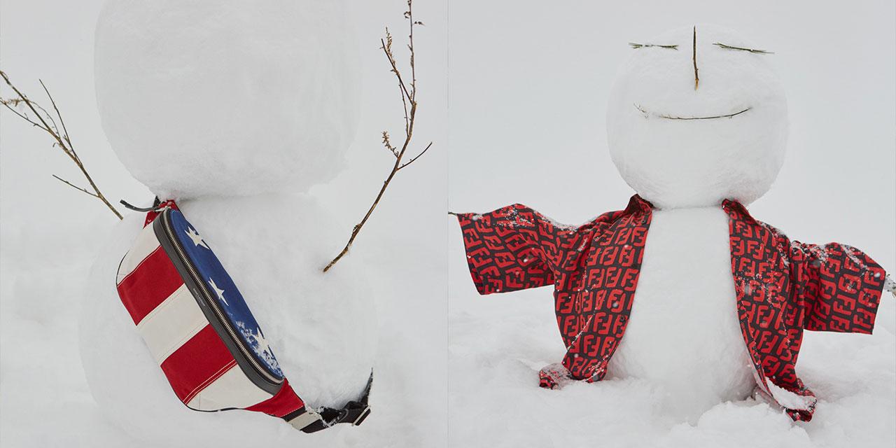 눈이 내리던 날, 눈사람 그리고 눈과 사람.