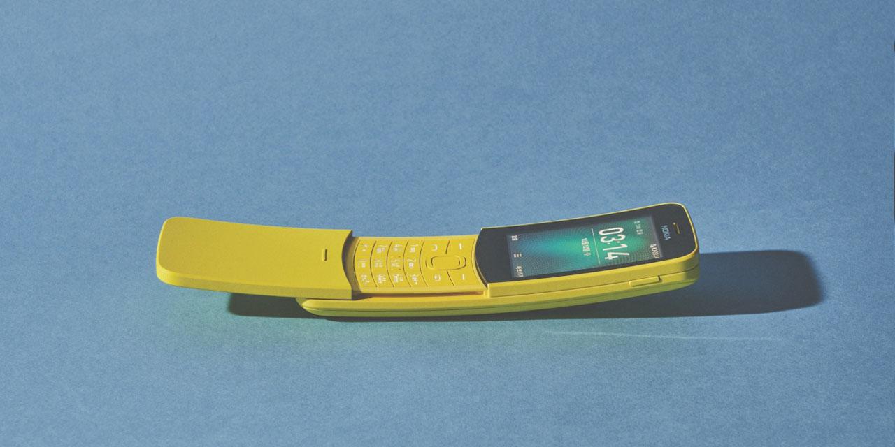 '매트릭스'의 네오가 사용했던 바나나폰, 노키아 8110이 새롭게 출시됐다.
