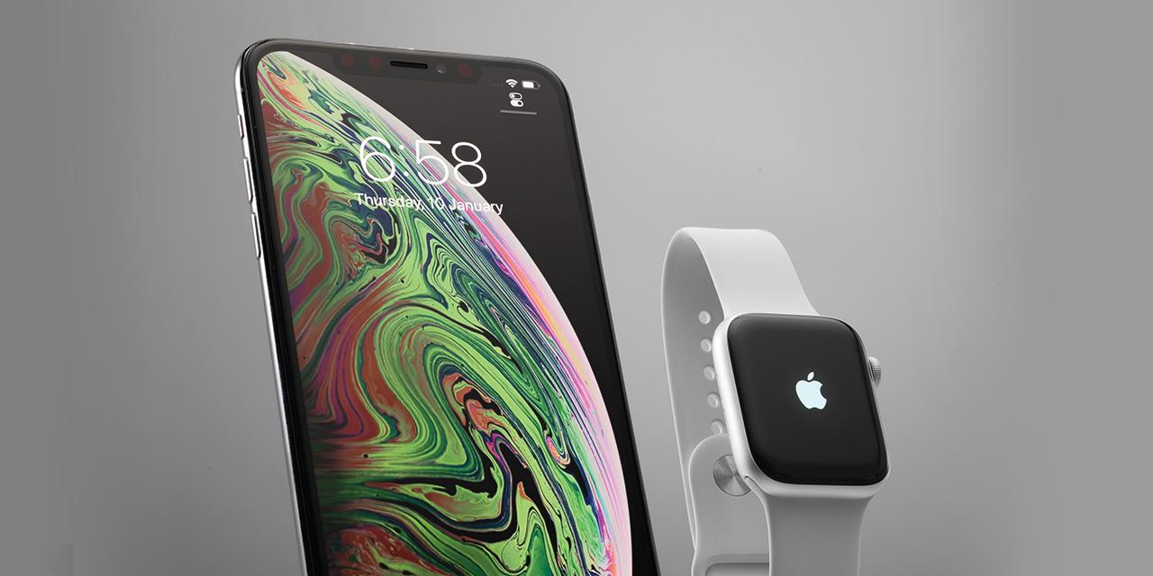 애플의 아이폰 Xs 맥스와 애플워치 시리즈4는 확실히 진일보한 결합이다.