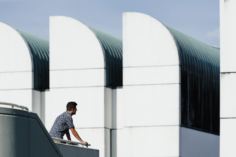 Bauhaus-Archiv / Museum für Gestaltung Berlin (1976–79), Architekten / architects: Walter Gropius, Alex Cvijanovic, Hans Bandel Photo: © Tillmann Franzen, tillmannfranzen.com © VG Bild-Kunst, Bonn 2018