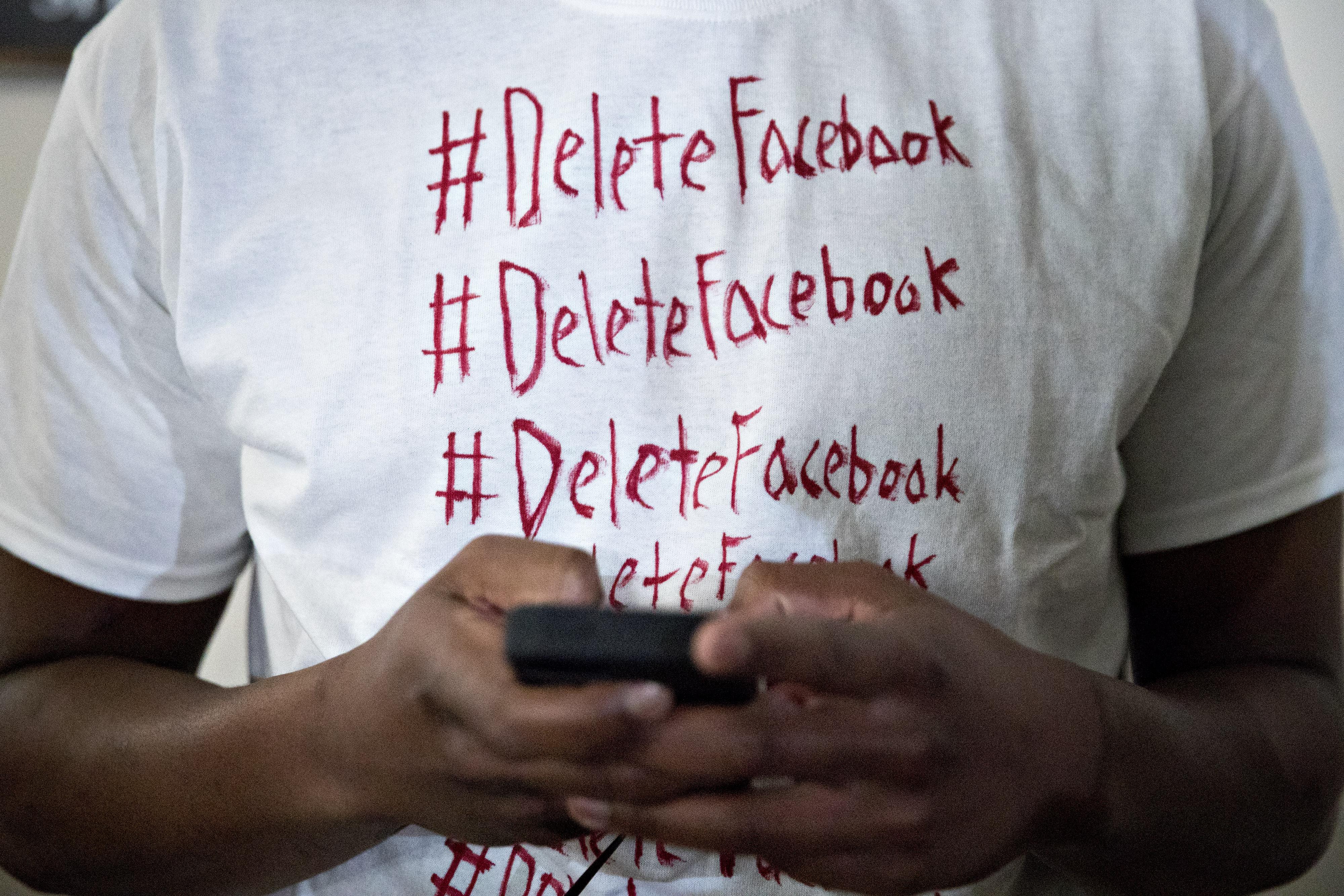 페이스북을 삭제하는 사용자들이 늘고 있다.