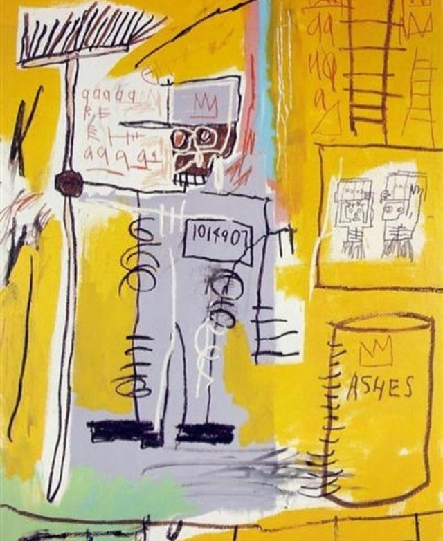 Ashes, 1981 @Basquiatart