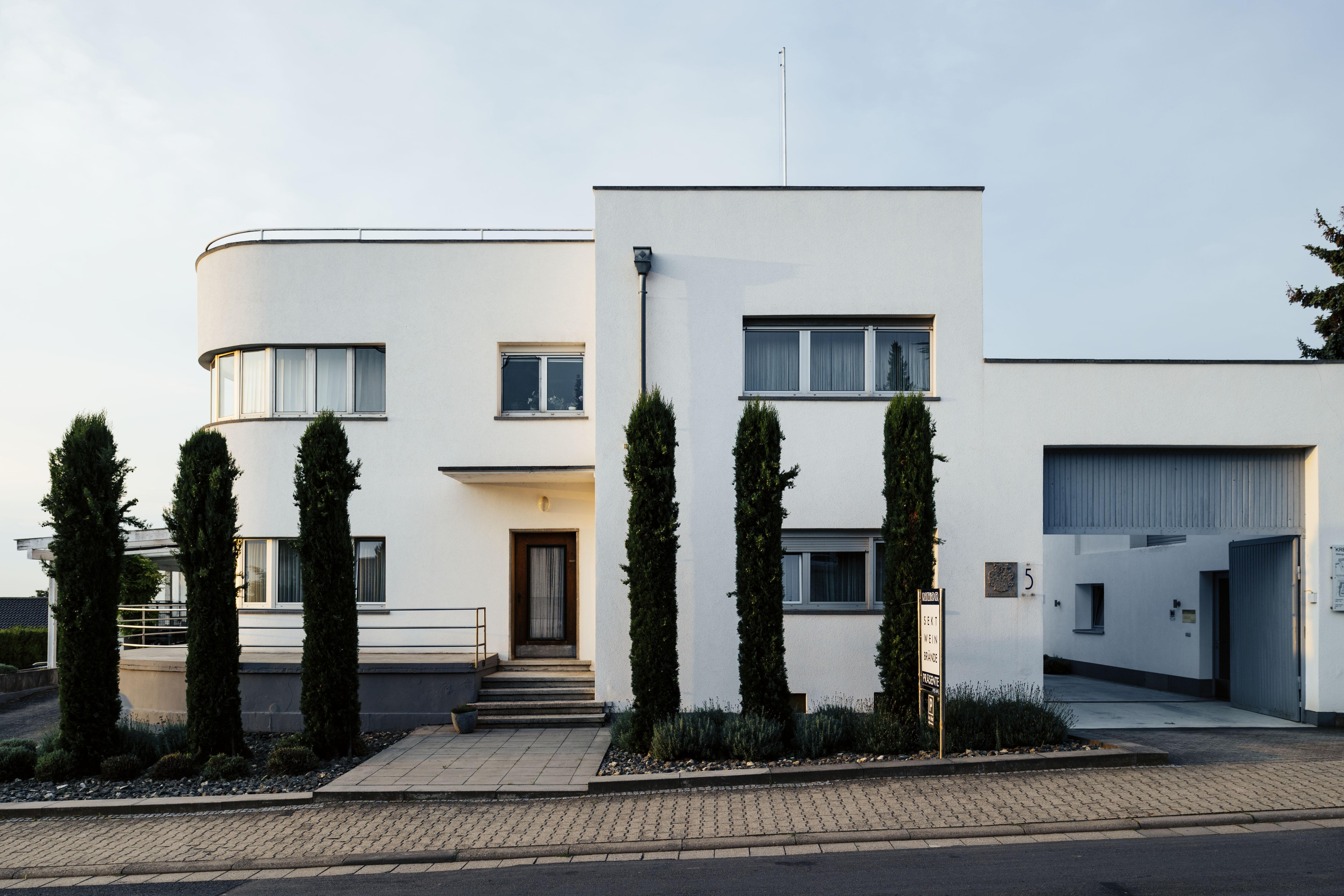 Weingut / Vineyard Kreutzenberger (1929/30), Architekt / architect: Otto Prott Photo: © Tillmann Franzen, tillmannfranzen.com