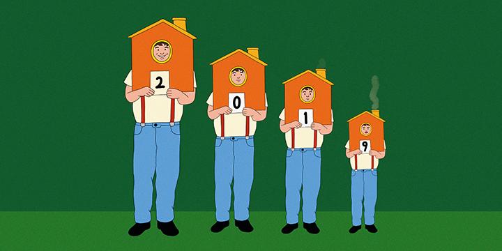 집값 폭등 직전, 고요하던 2013년 부동산 시장. 6년 만에 거래절벽을 맞은 2019년 부동산이 그때로 돌아갈까.