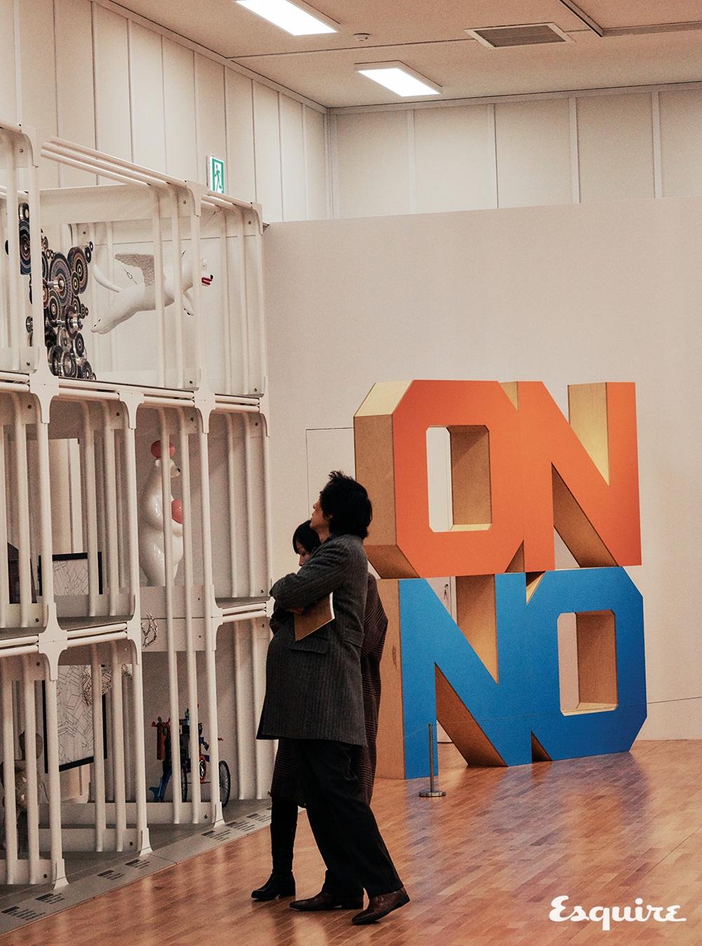 3층 개방 수장고. 이곳은 특히 국립현대미술관 소속 기관인 미술은행의 소장품을 모아놓았다. 미술은행은 보다 젊은 작가, 중견 작가의 작품을 수집한다.