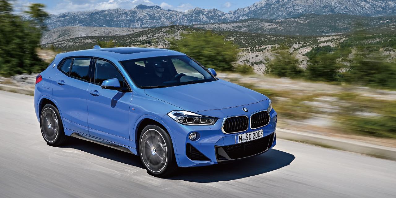 BMW는 X2를 스포츠 액티비티 비클(SAV)이라는 틀로 규정한다.
