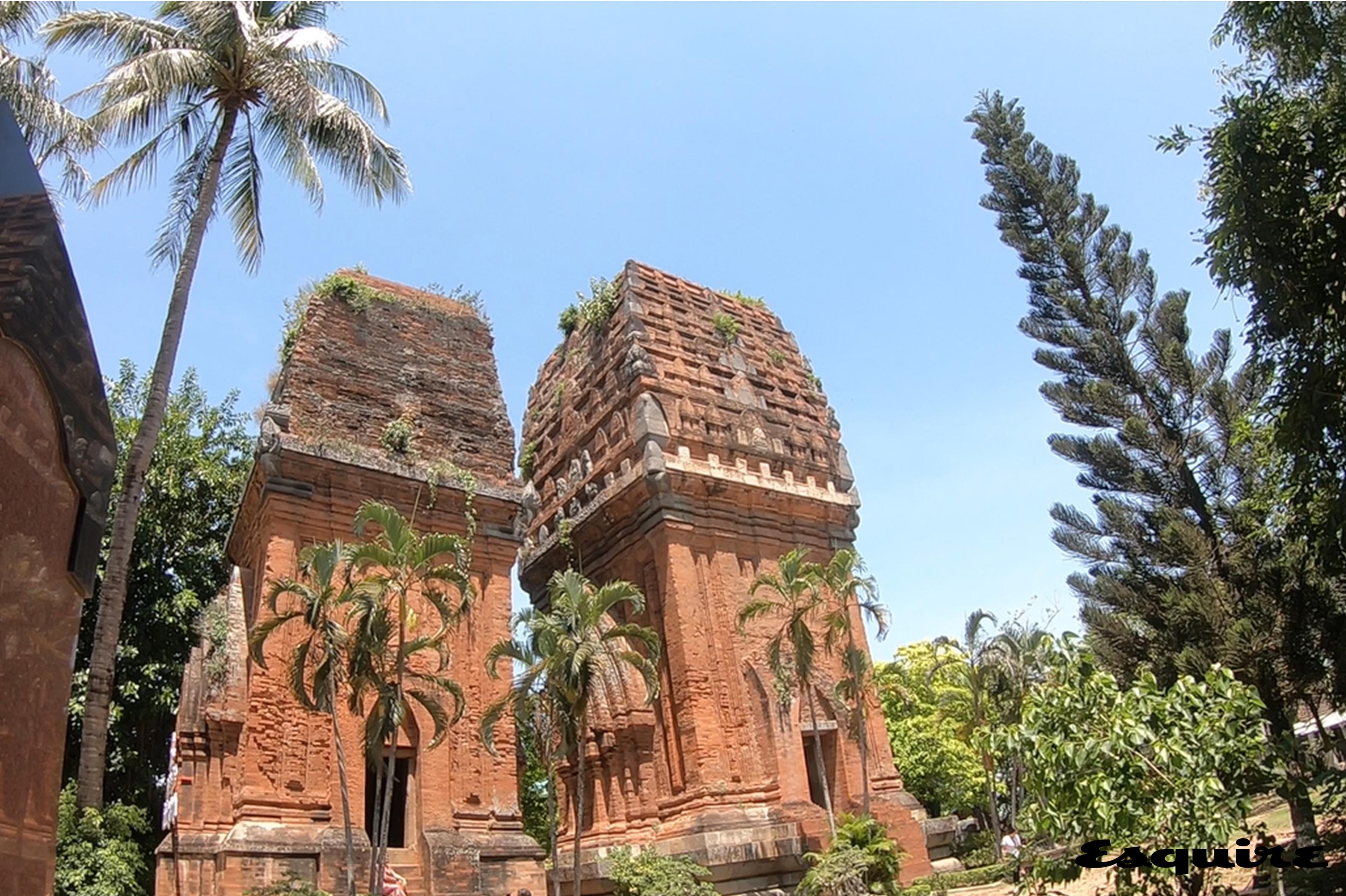 탑 도이 쌍둥이 참 타워 Thap Doi Twin Cham Towers