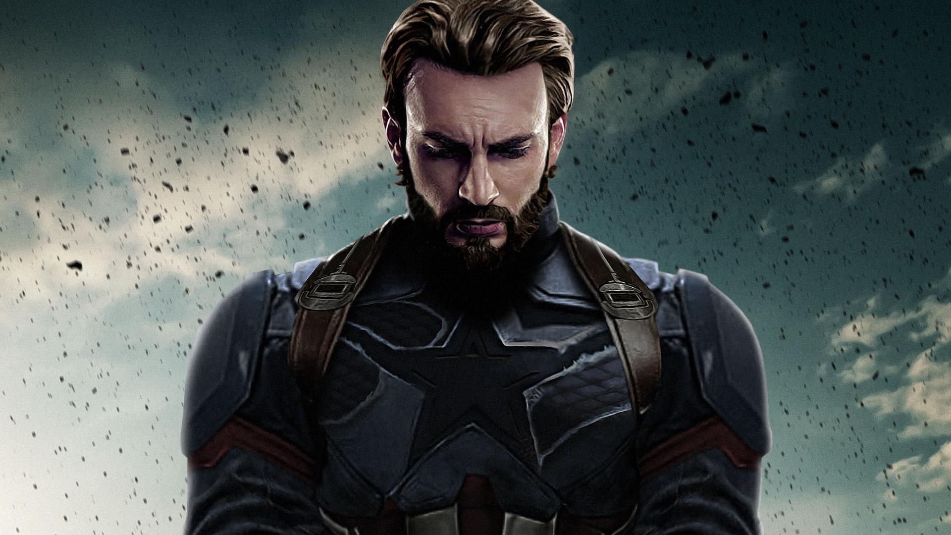 '어벤져스: 엔드게임'을 마지막으로 캡틴 아메리카 역의 크리스 에반스는 떠날 것으로 보인다.