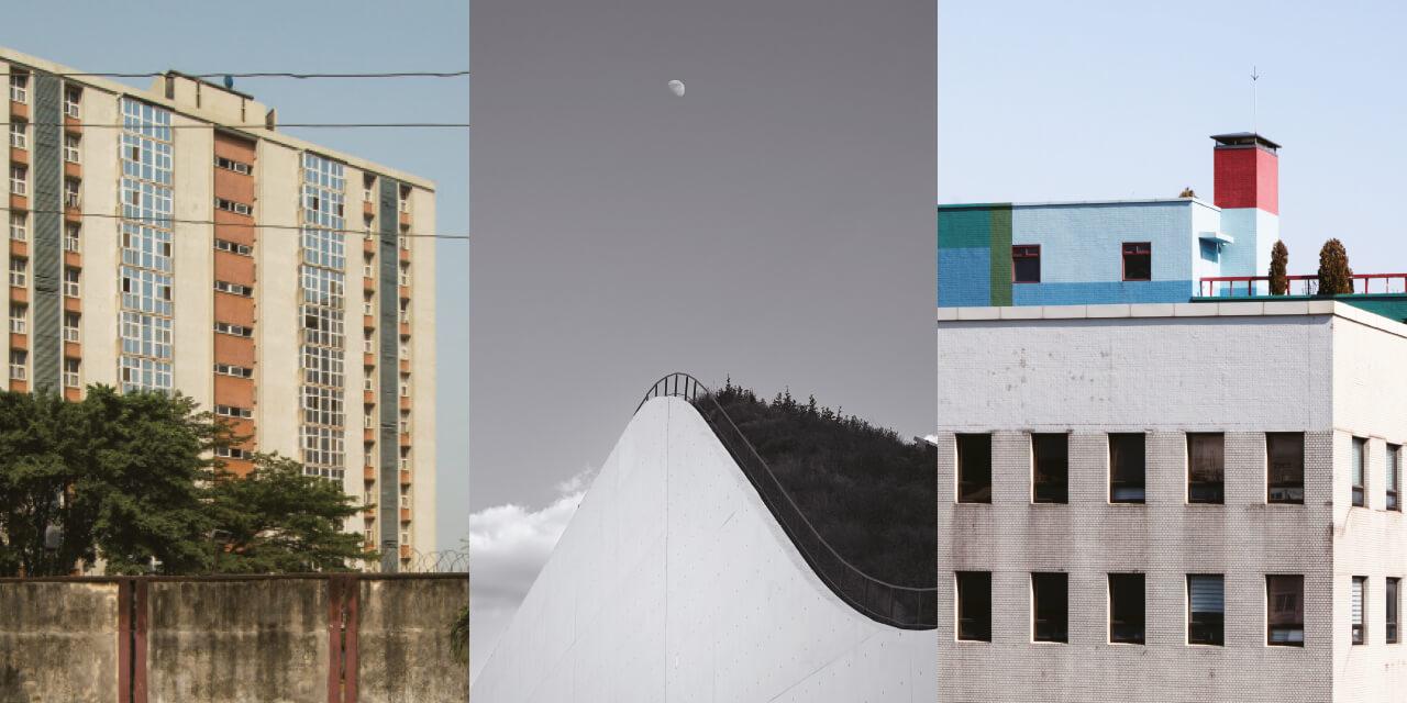 건축 사진가가 도시를 여행하는 법.