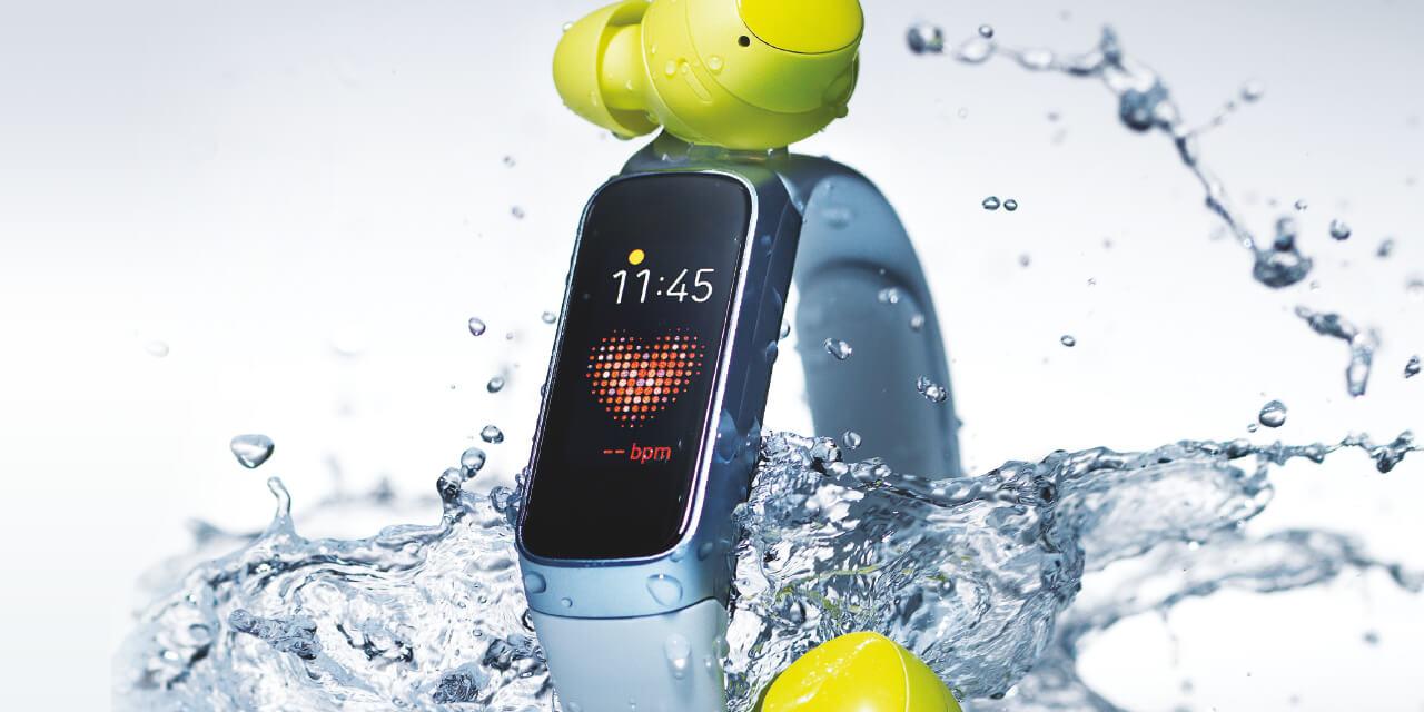 물을 두려워하지 않는 여름 전자 제품.